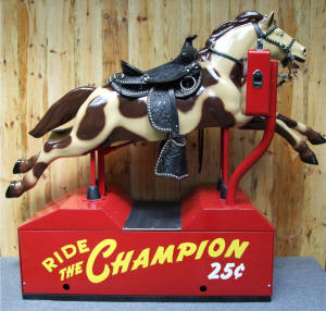 Coin Operated Champion Horse