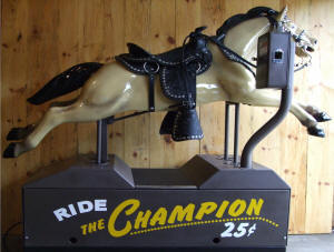 Coin Operated Horse Ride