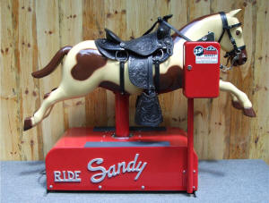 Coin Operated Sandy Horse